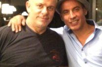 Tommaso y Pitingo en el Restaurante La Bruschetta de Altea
