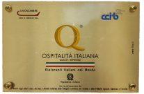 Emblema certificado de calidad