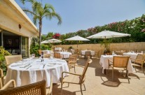 Terraza restaurante La Bruschetta