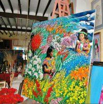 Exposición artística de María Chávez